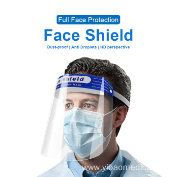Disposable Plastic PET Protective Face Shield visors