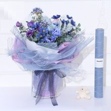 Mesh flower packaging wrapping paper