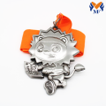 Custom zinc alloy animal medals