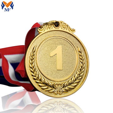 Personailzed custom diecast gold reward medals