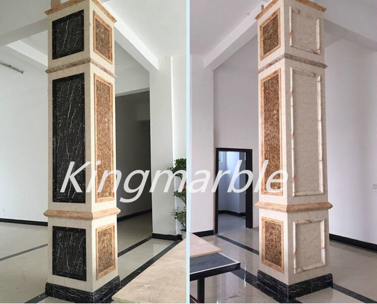 Sale High Glossy Marble Look Interior Decoration Uv Panel