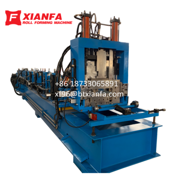 Building Frame C Z Purlin Roll Forming Machine