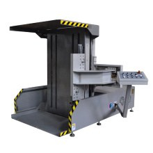Automatic paper pile turning flip flop rollover machine