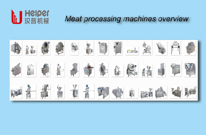 meat processing machines overview