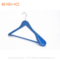 EISHO Blue Wood Suit Coat Hanger