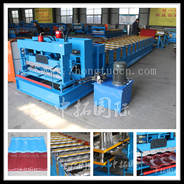 Glazed tile roll forming machine (4)