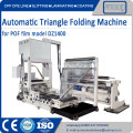 Automatic center folding machine for POF Shrink film
