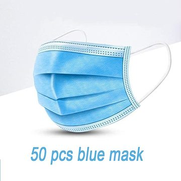 Medical Safety Disposable Masks Blue