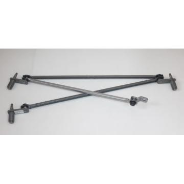 Automobile parts bus assembly wiper linkage