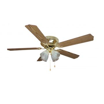 brush nickel 5 MDF blade ceiling fan