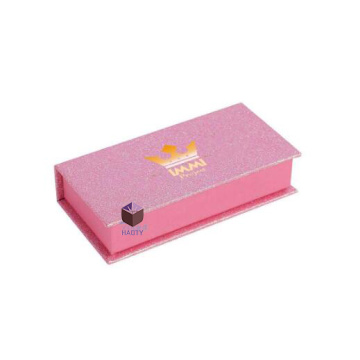 Personalized Luxury Magnetic Pink Eyelash Box