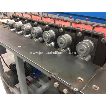Metal sheet edge folding machine