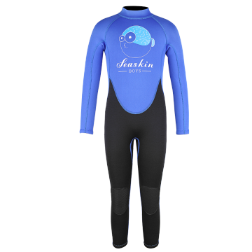 Seaskin Cheap Warm Colorful Kid Diving Wetsuit