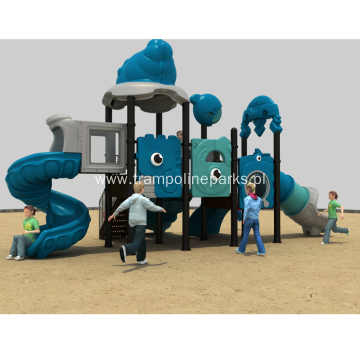 Outdoor Recreational Playground Play Structure