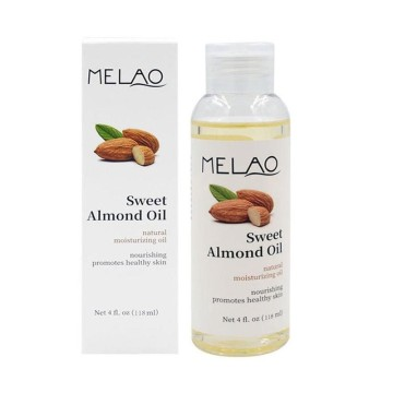 100ml Sweet Almond Natural Essential Oils Body Moisturizing Smoothing Massage Base Oil Skin Care Body SPA Relaxing