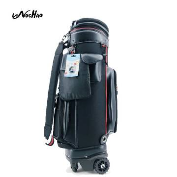 21 Years Factory High Quality PU Golf Bag with Four wheels