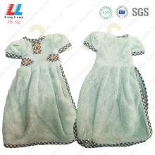 New design hand dry towel dress style