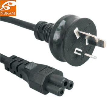 US Approval 3-Prong extension Power Cord