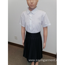 Boys solid color school uniform
