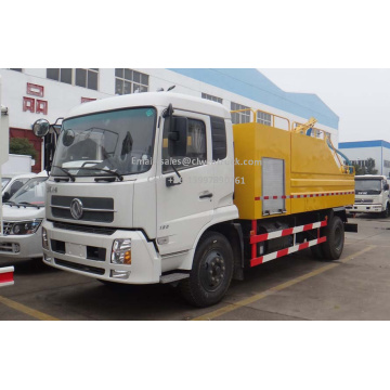 Brand New Dongfeng 10m³ Combined Jet Vacuum Trucks