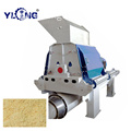 CE hammer mill of wood chips