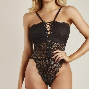 custom made lingerie oem underwear lace corset bodysuit