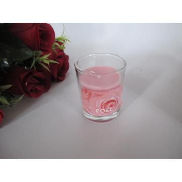 Long Burning Beautiful Scented Glass Candle