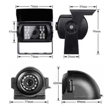 car camera 1080p dual lens with DVR