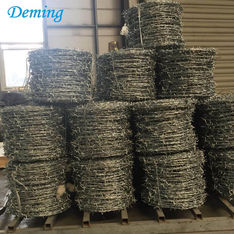 Factory Price 25kgs Stainless Steel Barbed Wire Roll