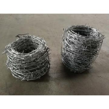 Double strand common twisted barb wire for sale