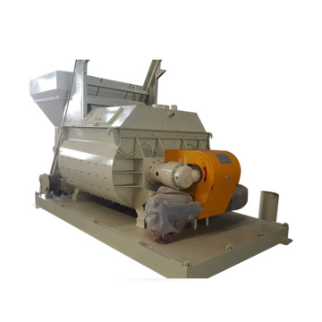 Large capacity twin shaft 1m3 js concrete mixer