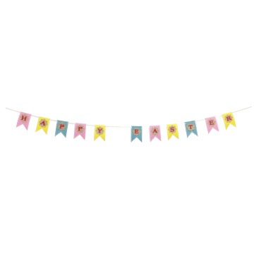 """ Happy easter"" bunting banner"