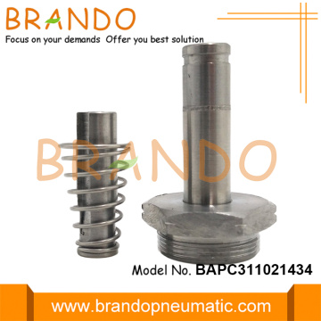 Stainless Steel Plunger Tube Thread Seat Armature Assembly