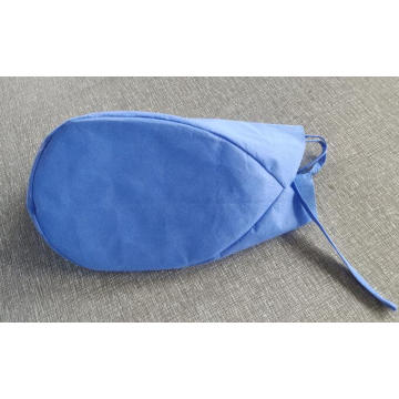 Disposable Blue Surgical Cap with Ties on Back