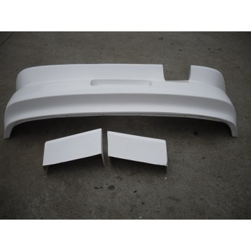Rear Bar rear bumper Resin fiber Carbon fibre