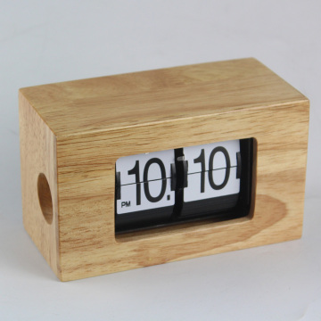 Mini reloj giratorio para decorar la mesa