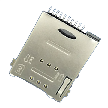 SIM Series 10Pin With Boss 1.85mm Height Connector