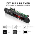 kebidu 5V 12V MP3 Decoder Board Remote Module AUX 3.5 mm TF FM Radio Audio MP3 Player USB For Car Remote Music Speaker