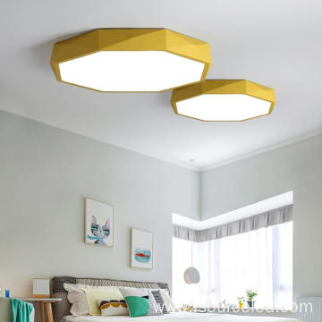 round 8w-27w yellow led ceiling lights