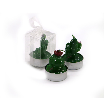 Imitation plant fragrance cactus candle