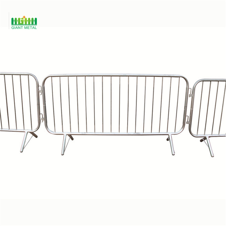 Hot sale Galvanized temporary crowd control barrier