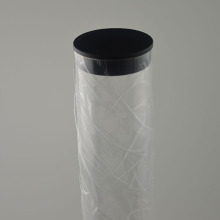 plastic cosmetic rigid see-through plastic tube