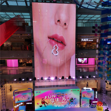 excellent high transparency led screen wall