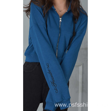 New Fashion Zip Hoodies with Three Colors