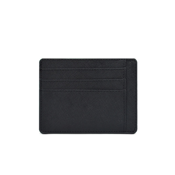 Custom Front Pocket Wallet Slim Saffiano Leather Cardholder