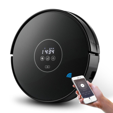 WIFI Control Vacuum Smart Robot Vacuum Cleaner