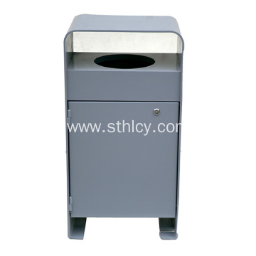 Outdoor Stainless Steel Garbage Cans