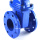 Hot selling cast iron steam and water manual metal wafer gate valve dn400