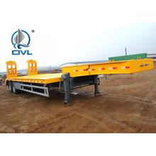 Low Bed Semi Truck Trailer  80T