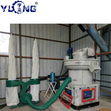 Yulong Xgj560 Biomassa Pellet Machine Índia